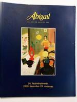 Abigail festmény árverés  katalógus 2009