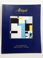 Abigail festmény árverés  katalógus 2008 december
