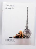 Sothebys : Ezüst tárgyak  árverési katalógus 1998