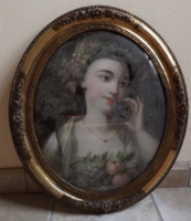 Különleges festmény bieder keretben