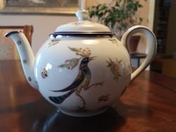 Különleges Zsolnay Főnix teáskanna fedővel, hibátlan, új