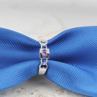 925S lila köves gyűrű 7-es