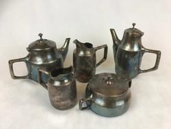 Art Krupp Berndorf kávé/tea tálalókészlet