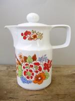 Retro,vintage virágos Colditz kávéskanna