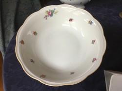 KPM köretes porcelán tál, 23 cm-es, hibátlan