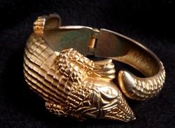 Krokodil karperec - tömör fém - laurentroux vásárlónak