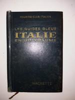 Régi Olasz könyv  - túra útmutató