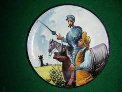 Spanyol kézzel festett kerámia