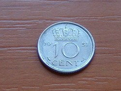 HOLLANDIA 10 CENT 1951