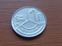 BELGIUM BELGIE 1 FRANK 1990
