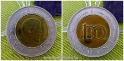 "Kossuth Lajos 100 Ft ""kötőjel nélküli"" 2002 (id2233)"