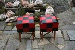 Kiváló állapotú retro puff / ülőke eladó  - 2 db