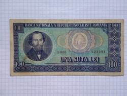 Románia 100 Lei 1966 !!