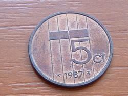 HOLLANDIA 5 CENT 1987