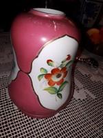 Régi porcelán lámpa búra