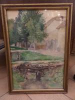 Szabó Vladimir akvarell