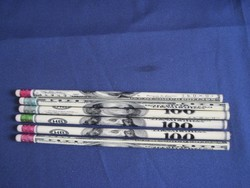 Retro grafitceruza HB ceruza csomag 100 USA dollár mintával