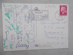 1969.Penzügyőr SE labdarúgóinak aláirasai
