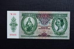 1936 10 pengő aUNC csillagos.