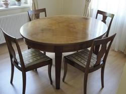 Ebédlőasztal felújítva