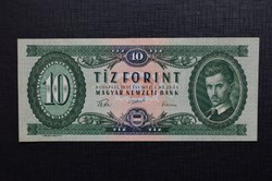 1957 10 forint. aUNC - EF++