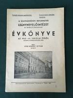 Szatmárnémeti Református Leánnevelő Intézet Gimnáziumának ékönyve 1943-44