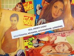 1977 március 10  /  Füles  /  SZÜLETÉSNAPRA RÉGI EREDETI ÚJSÁG Szs.:  5943