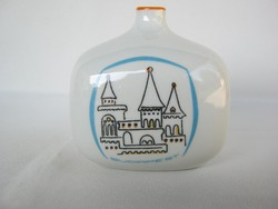Drasche porcelán art deco váza budapesti emlék