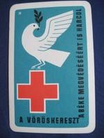 1965. Kártyanaptár - Magyar Vöröskereszt