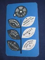 1965. Kártyanaptár - MOKÉP