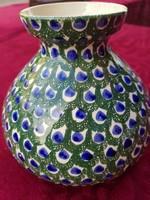 Sarreguemines kézzel festett csodás váza eladó!
