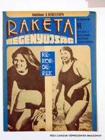 1977 április 5  /  RAKÉTA REGÉNYÚJSÁG  /  Régi ÚJSÁGOK KÉPREGÉNYEK MAGAZINOK Szs.:  8923
