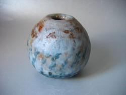 Modern kerámia gömbváza (raku)
