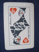 1965. Kártyanaptár - A Közúti Balesetelhárítási Tanács