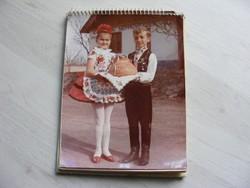 Kalocsa és Vidéke Sütőipari Vállalat asztali naptár 1971