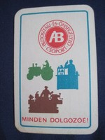 1965. Kártyanaptár - Állami Biztosító 3.