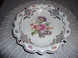 Wallendorf porcelán kínáló tányér