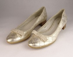 0V548 Ezüst Claudy balerina cipő 38-as