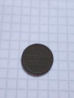 1/ 2  Kopejka  ( Kopejki ) 1898 !!