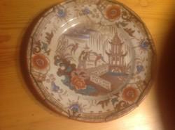 Nagyon régi willeroy porcelán tányér
