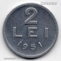 Románia 2000 román Lei, 1946, szép