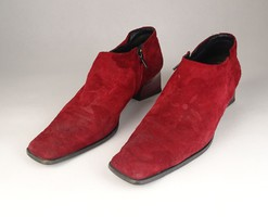 0V554 Bordó Cango Rinaldi női velúr cipő 39-es