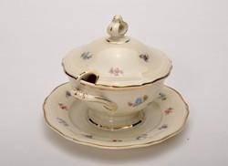 Rosenthal Chippendale porcelán  mustáros , fedővel, hibátlan. Jelzett.