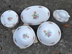 Bavaria Seltmann Weiden porcelán 22 darabos étkészlet