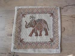 Elefántos díszpárnahuzat