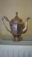 Ezüst kávés kanna kiöntő 800-as   736 gramm