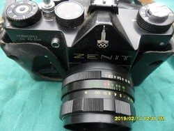 Zenit  TTL fényképezőgép moszkai olimpiai kiadás