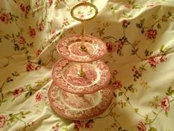 Wedgwood 3 emeletes süteményes
