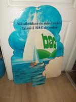 retró bac dezodor reklám  plakát 70 es évek