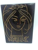 Fa falikép